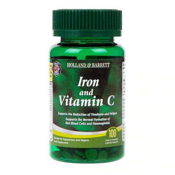 铁和维生素C片 100片