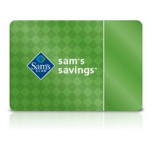 $35送价值$25礼卡+额外$10满减Sam's Club 一年期会员卡超值热卖 小投资超省钱