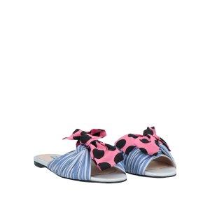 Prada蝴蝶结凉鞋