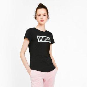 Puma经典logo T恤