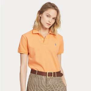 Ralph LaurenClassic Fit Mesh Polo Shirt