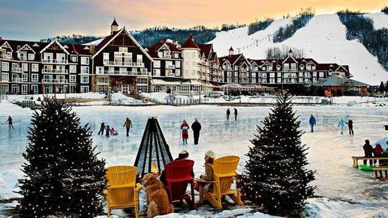加拿大蓝山度假村旅游攻略 | Blue mountain温泉、滑雪场、餐厅、宾馆推荐