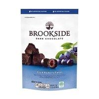 Brookside 巴西莓+蓝莓果肉夹心 黑巧克力 21 Oz 装
