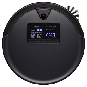 bObsweepPetHair Plus Robotic Vacuum Cleaner and Mop, Midnight