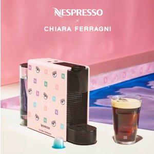 限量发售 低至€12就收咖啡杯Nespresso×Chiara Ferragni跨界联名 粉红眨眼咖啡机俏皮上市