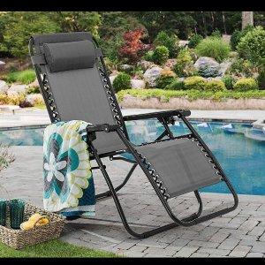 $29.99起限今天:Sunjoy 零重力休闲椅一日促销