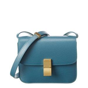 CelineTeen Classic Leather Shoulder Bag