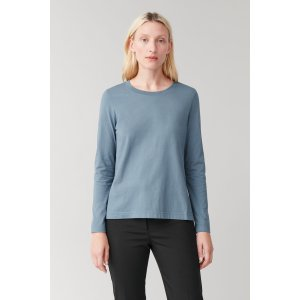 2 for $39LONG-SLEEVED COTTON TOP