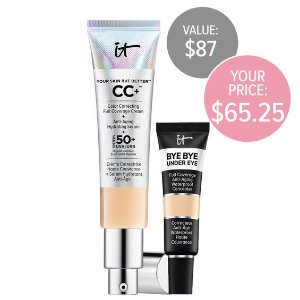 IT Cosmetics CanadaCC霜+眼部遮瑕套装(价值$87)