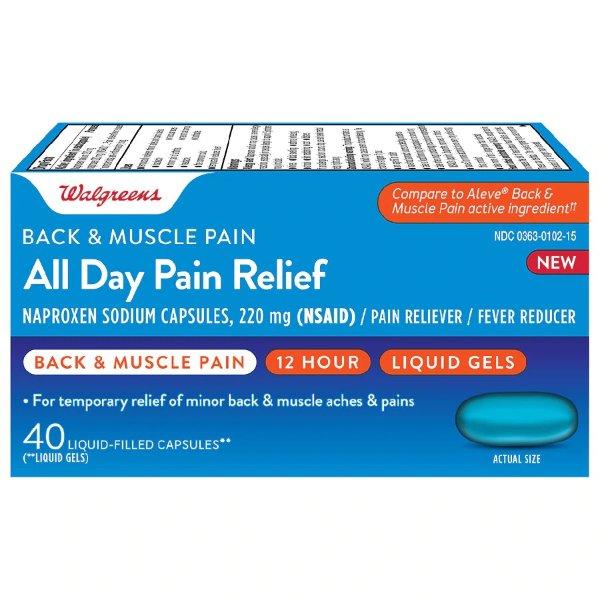 背部、肌肉酸痛缓解止痛药