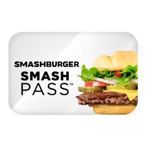 售价$100 日均$1享美味SmashBurger 100天畅享卡现已开售