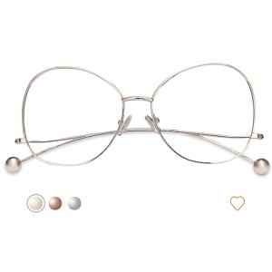 EyeBuyDirect小圆球镜框
