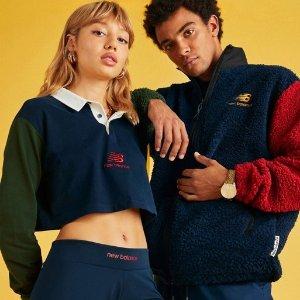 一律8.5折 £29收封面上衣上新:New Balance 秋冬少女系列上新 90年代学院风无敌减龄