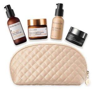 低至4折+额外7折 加送化妆包Perricone MD 定制属于的你的保养套装 还有豪华赠品等你