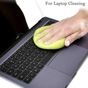 $12.99(原价$16.99)键盘清洁泥5包 方便快速 汽车出风口键盘缝隙清洁