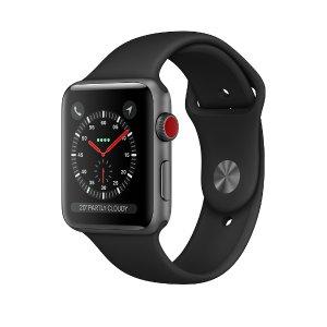 $399.99 两手空空去健身Apple Watch Series 3 GPS蜂窝网络版 Always Online