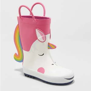 Spend $40 save $10Select Cat & Jack Rain Boots Sale @ Target.com