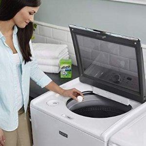 $8.54(原价$11.99)Whirlpool Affresh 洗衣机清洗剂 -3片装