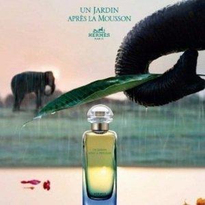 $132.61(原价$187)新生的气息HERMES 印度雨后花园中性淡香水 50ml