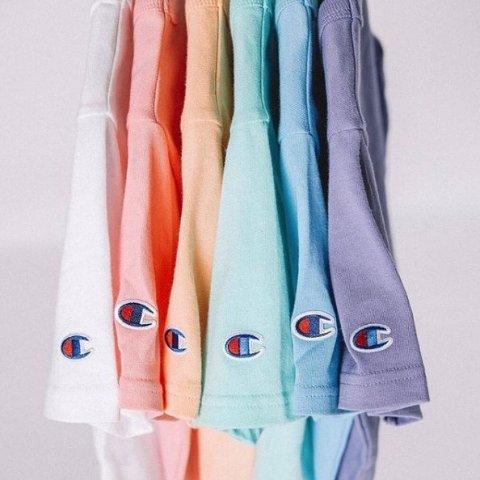 $9.99起收白菜价:Champion Classic 纯色休闲运动T恤促销 多色可选