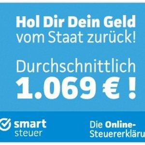 平均每人退税1069欧是不是被德国退税的事情搞到焦头烂额?用smartsteuer 自助退税简单20分钟搞定你全年退税