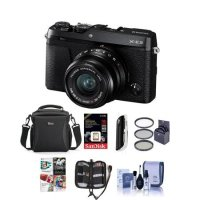 Fujifilm X-E3 无反数码相机 黑色 配XF 23mm镜头