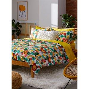 水果印花床品套装