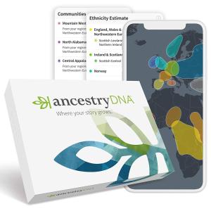 """$79包邮(原价$129)AncestryDNA 基因祖源检测套装 了解你的""""前世""""今生"""