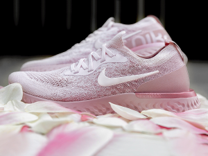 Available On 4/19'Pink Machta' Nike Epic React Flyknit @ FinishLine.com