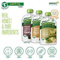 Sprout 有机4段水果泥, 4 盎司*16