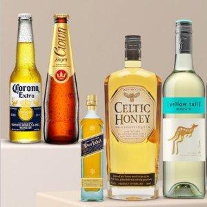 $49 收科罗娜24 x 355mLCatch官网 百款酒类热卖 啤酒、红酒、香槟一应俱全