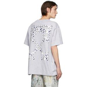 Off-White箭头T恤