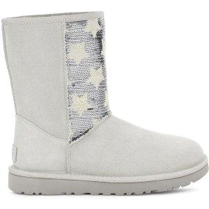 UGG任意2件$99星星亮片雪地靴