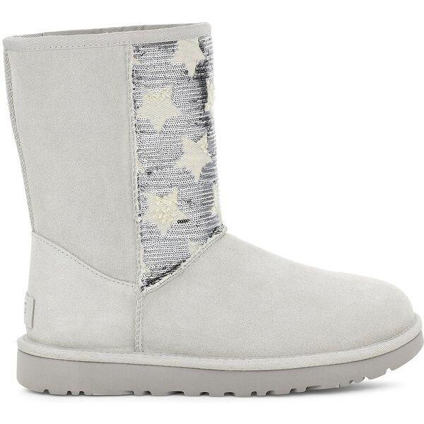 星星亮片雪地靴