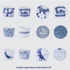 预计7月中旬发售新品预告:Uniqlo 高能预警艺术家系列UT餐具 即将发售