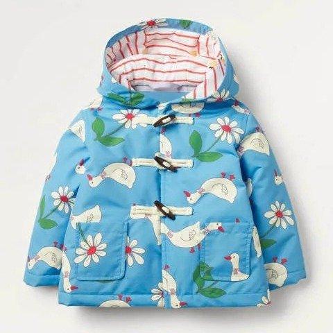 婴幼儿防水保暖外套