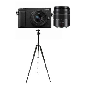 $497.99(原价$997.99) 送三脚架Panasonic Lumix DMC-GX85 + 12-32mm & 45-150mm 镜头