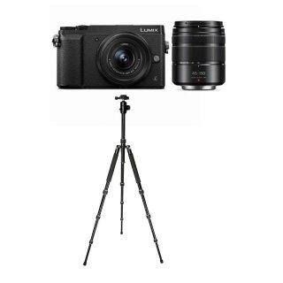 $497.99(原价$997.99) 送三脚架Panasonic Lumix DMC-GX85 + 12-32mm & 45-150mm 镜头