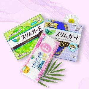 下单1件即可免邮中国花王 乐而雅卫生巾套装精选,低至¥1/片