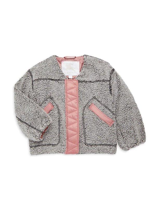 女童茸茸外套