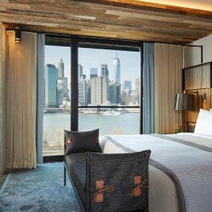 $379起  2017年度室内设计最佳奖纽约5星级网红酒店 布鲁克林大桥1号酒店
