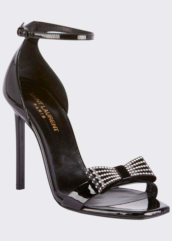 Zoe Rhinestone 高跟鞋