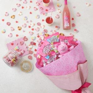 小猪糖£15/罐 超萌抱枕手慢无Percy Pig 周边热卖 复活节软糖、巧克力限定3月18日发货
