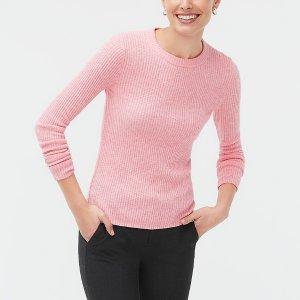 J.CrewRibbed crewneck sweater