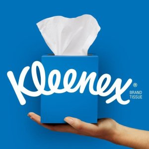 低至5折Kleenex 舒洁纸类用品专场 收棉柔抽纸、清洁湿巾
