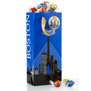 Lindt2 for $42Create Your Own LINDOR Truffles Boston Gift Bag (75-pc, 31.7 oz) | Lindt USA