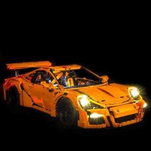 现价 £195.99 (原价£259.99)LEGO 乐高 科技系列 保时捷 911 GT3 RS (42056)