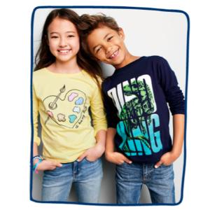 包邮+最低$4.97 封面大童款$5.97卡特家姐妹店OshKosh BGosh 儿童T恤Doorbuster优惠 读者实图晒可爱Tee
