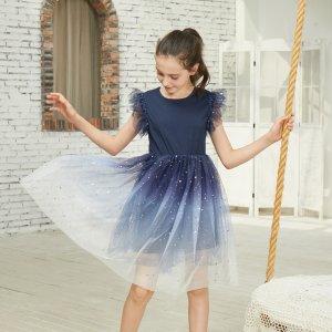 低至1.8折+最高额外8折独家:PatPat女童公主裙热卖 摇身一变小公举