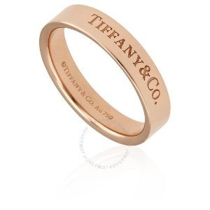 Tiffany & Co.热卖款18k玫瑰金戒指